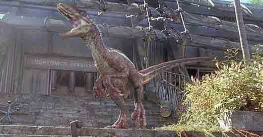 «Остров динозавров» из фильма «Парк юрского периода III»