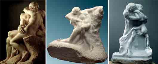 Какую танцовщицу Огюст Роден попросил позировать для его скульптур «Весна» и «Поцелуй»