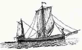 Лодка античных пиратов