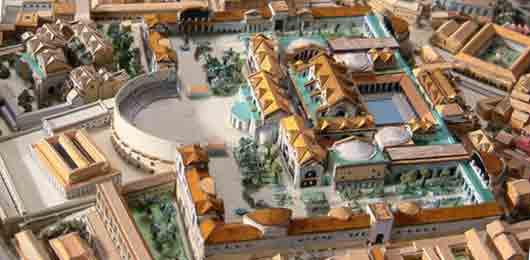 Холм с «термами Диоклетиана»