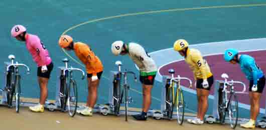 Групповая велогонка