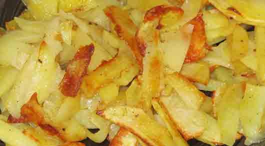 От какой картошки много хруста