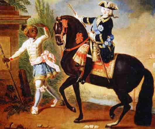 Придворный живописец императрицы Елизаветы Петровны