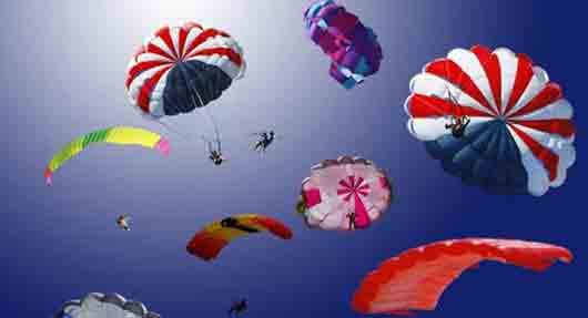 Ткань парашютов