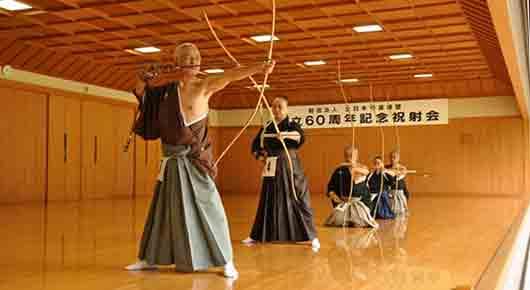 Японское искусство стрельбы из лука