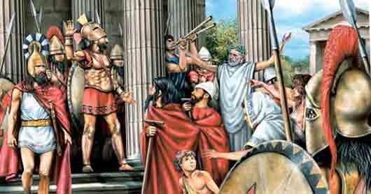 Первый из девяти афинских архонтов