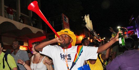 Какой рожок стал знаменитым на весь мир благодаря ЧМ по футболу 2010 года