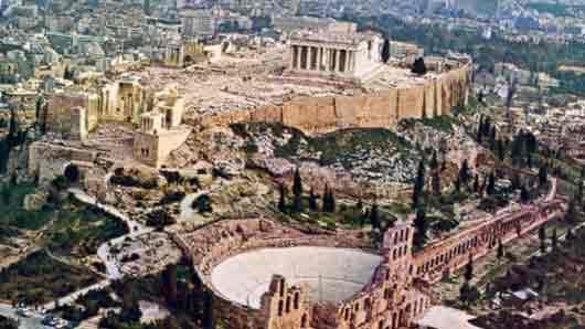 Цветочный символ Афин в античные времена