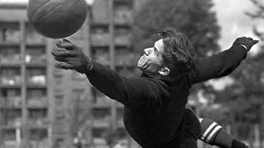 Легендарный вратарь советского футбола по прозвищу Тигр