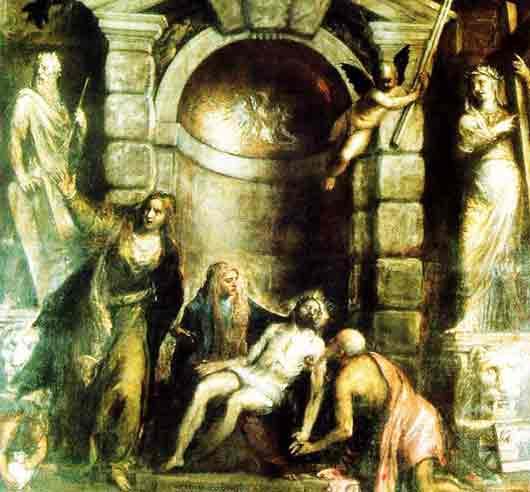 Живописный гений, нарисовавший «Оплакивание Христа» для своего же надгробия
