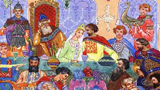 Хазарский жених пушкинской Людмилы
