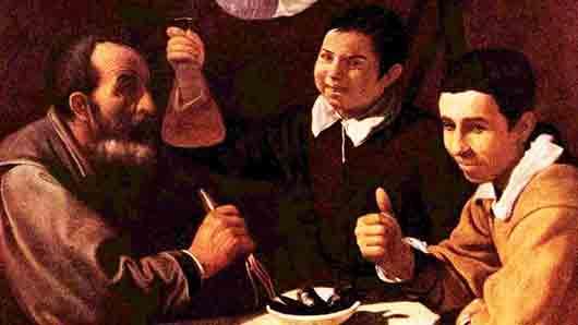 «Трактирный жанр» в творчестве великого испанца Диего Веласкеса