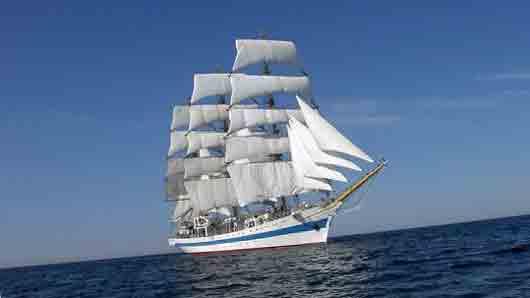 «Гнездо» для мачты в палубе судна