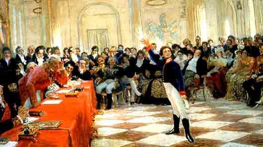 Прозвище Александра Пушкина в литературном кружке «Арзамас»