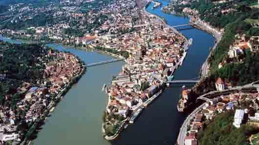 Страна с крупнейшим речным островом на Дунае