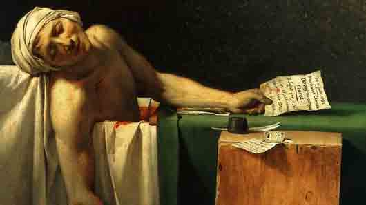 С каким якобинцем дружил французский живописец Жак Луи Давид