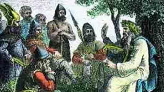 «Гусь крови» из стихов скандинавских скальдов