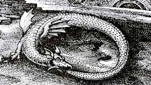 Какой мистический змей стал татуировкой на голове Малаха из романа «Утраченный символ» Дэна Брауна?