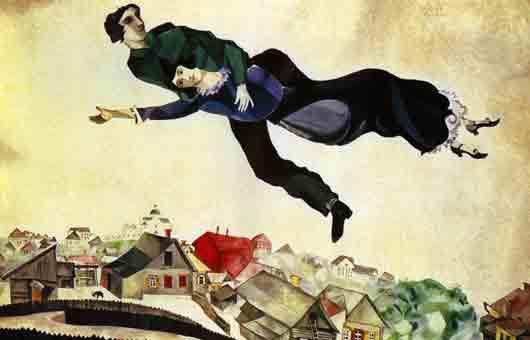 «Нарушитель гравитации» среди наших великих художников