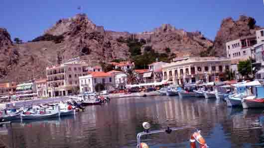 «Остров Гефеста» в Эгейском море