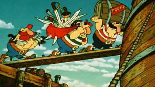 Капитан «Моржа» из «Острова сокровищ» англичанина Роберта Стивенсона