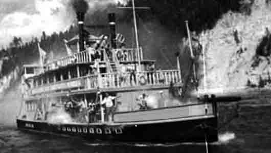 Какая рыба стала пароходом из фильма «Волга-Волга»