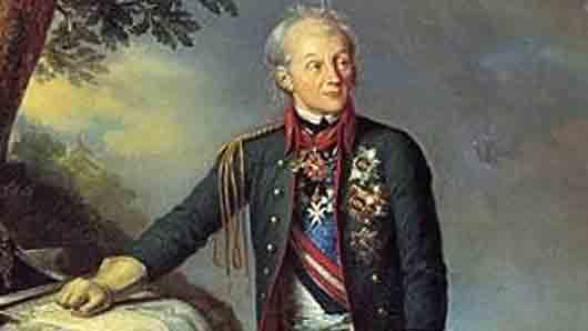 Какую милостыню Александр Суворов обычно подавал здоровому нищему