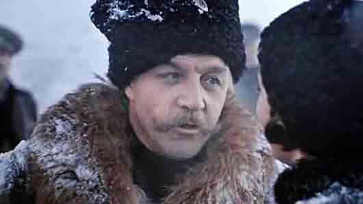 Казачий генерал из фильма «Бег»