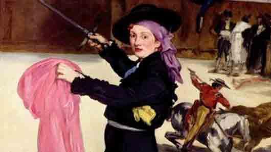 Художница и любимая модель для Эдуарда Мане