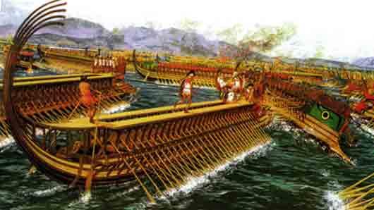 Кто руководил древнегреческим флотом