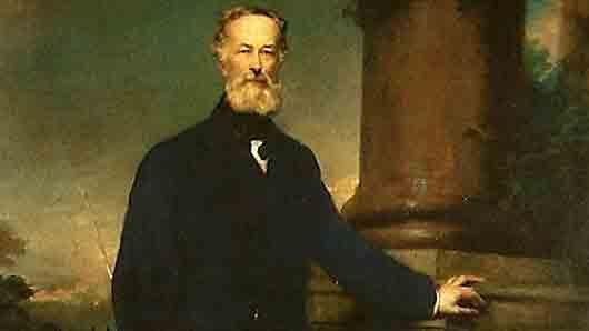 «Пушечный король», составивший первый капитал на колесах для железной дороги