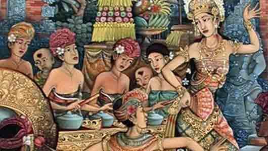 Индонезийский танец «злого духа»