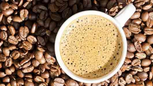Пенка на кофе эспрессо