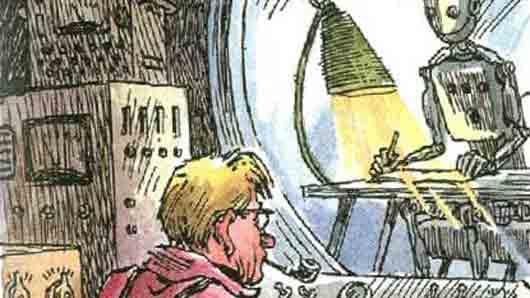 «Советский киборг ручной сборки, мучающийся сложными этическими вопросами»