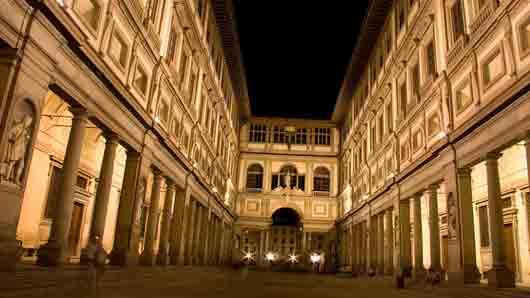 Какой музей был создан на основе коллекций живописи, собранный родом Медичи