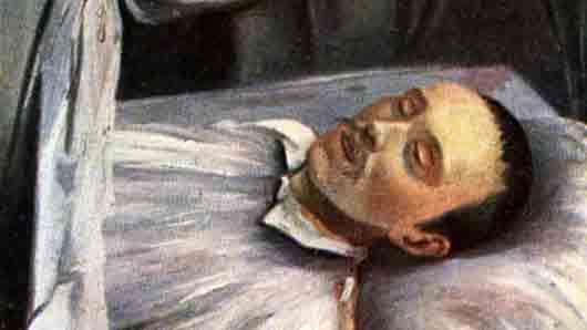 Кто сделал посмертный портрет Михаила Лермонтова