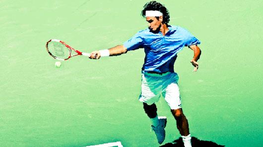 Крученая … из тенниса