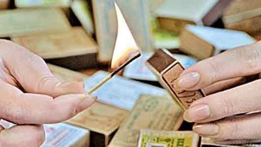 Кто в 1889 г изобрел первый спичечный коробок