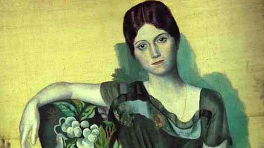 Русская балерина с портретов Пабло Пикассо