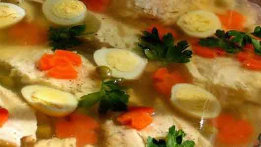 Рыба под желе