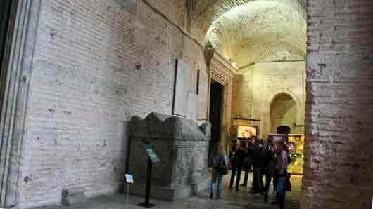«Вестибюль» в византийских храмах