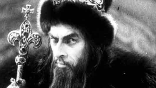 Царь в «Иване Грозном» (актер)