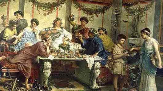 Чем благоухали обеденные столы у римской аристократии