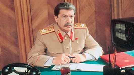 Игорь … трижды сыграл роль Сталина в кино