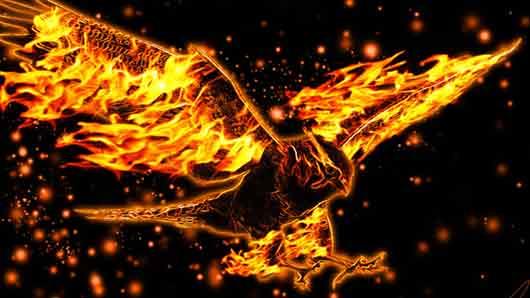 Огненная птица из славянских мифов