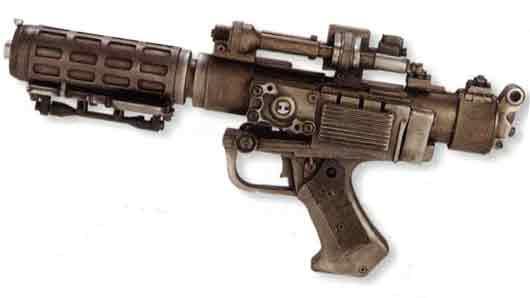 Пистолет, придуманный фантастами