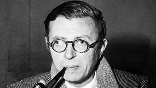 С какой Симоной чаще всего обедал французский писатель Жан-Поль Сартр