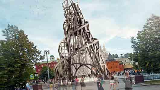 Чем пронизана башня Татлина