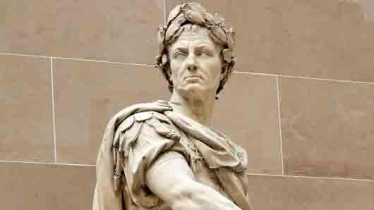 Куда шел Юлий Цезарь, когда его закололи