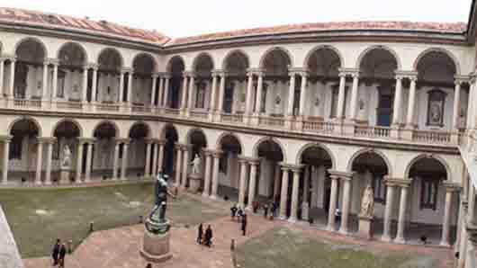 Миланская галерея с работами Рафаэля и Тинторетто